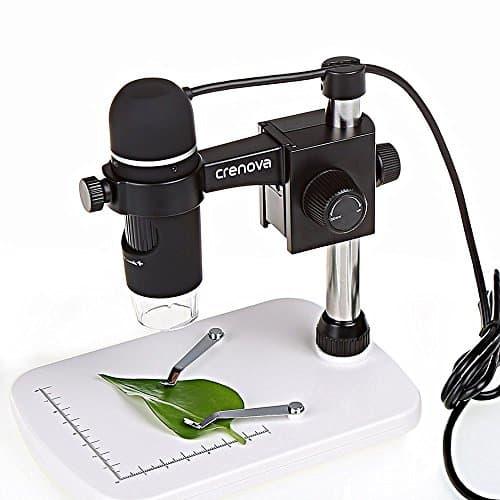 USB Microscope, Crenova USB Digital Microscope 5MP Video